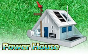 Power House Science Kit (alternative model energy home)