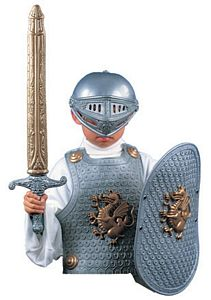 Crusader Play Dress Up Set Silver