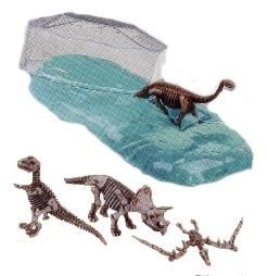 Dinosaur Fossil Putty - kids dinosaur party favor