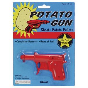 Die-Cast Potato Gun Classic Toy
