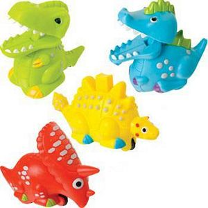 Toysmith Press & Go Dino Zoomsters