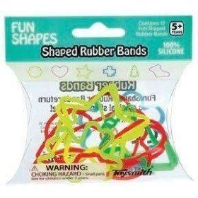 Fun Shapes Rubber Bands