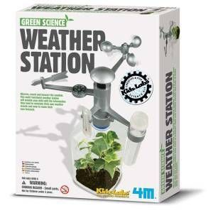 Green Science Weather Station, science kits, green science kits, water kit, wind kit, solar kit, sci