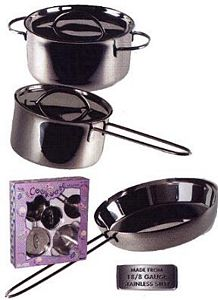 Kids Stainless Steel Cookware Set