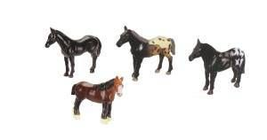 Mini Horse Toy Models, wildlife toys, zoo animals for kids, party favors, zoo party toys, animal par