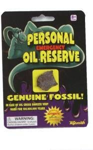 Personal Oil Reserve - Genuine Fossil