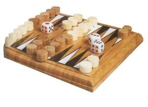 Bamboo Travel Backgammon