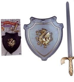 Pretend and Play Royal Knights Armor Sets (Black & Silver)