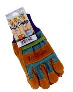 Kids Combo Color Gardening Gloves - Small, toysmith, kid size gloves, small childrens gloves, garden