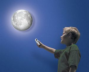 Moon In My Room - uncle milton - childrens moon decor