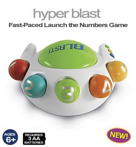 Hyper Blast-Fast Paces Launch the Numbers Game