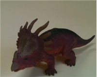 Hard Plastic Styracosaurus Dinosaur Toy Model