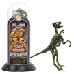 Test-Tube Toy Dinosaur Skeletons Velociraptor - Fossil Textured