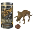 Mega Core Sample Triceratops Dinosaur Skeleton Model