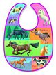 Horses Patchwork Bib, baby bibs, animals for babies, animals for toddlers, baby supplies