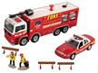 FDNY Fire Truck/Chief Car Set W/ Accessories
