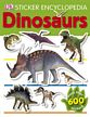 Dinosaur Sticker Encyclopedia, dinosaur book for kids, dinosaur information book