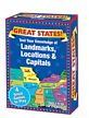 Great States, Landmarks, Locations, & Capitals Card Game