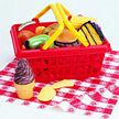 Pretend & Play Picnic Play Food Basket Set
