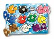 Melissa and Doug Fish Colors Mix'n Match Peg Puzzle