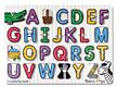Melissa and Doug See-Inside Alphabet Peg Puzzle
