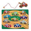 Melissa and Doug Magnetic Wooden Tow Truck Game
