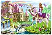 Melissa and Doug Fairy Tale Castle Floor Puzzle, little girls floor puzzle, big floor puzzle
