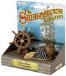 The Swashbuckler Collection Ship's Helm and Cannonballs