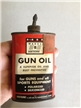 Vintage Montgomery Wards Hawthorne Gun Oiler Tin Metal Can 3 Oz Lead Spout