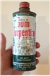 Vintage Gum Turpentine Paint Thinner Tin Metal Can El Paso Texas Tx
