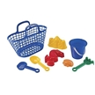 Kids Beach Basket - Plastic Beach Gear