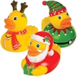 Holiday Duck Squirters, stocking stuffers, holiday stocking stuffers, rubber duck, holiday rubber du