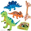Squish- A- Saurus Dinosaur Toy Set (6 different dinosaurs)