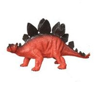 Hard Plastic Stegosaurus Dinosaur Toy Model