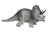 Hard Plastic Triceratops Dinosaur Toy Model