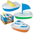 Assorted Plastic Boats, kids plastic boat, childrens plastic boat, beach toys, sand box toys, water