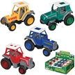 Small Pull Back Treadin Tractors, tractor toy, die-cast tractor toy, kids toy tractor, tractor model