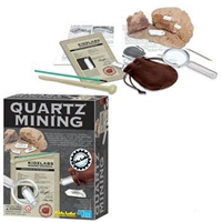 Quartz Mining Dig Kit - Kids Labs