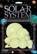 Glow in Dark 3d Solar System Wall Display Mobile