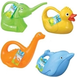 Kids Plastic Watering Can - Green Elephant