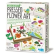 Green Science Kit - Pressed Flower Art, kids science kits, outside experiment green science kit