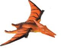 Small Hard Plastic Pteranodon Dinosaur Toy Model