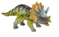 Small Hard Plastic Triceratops Dinosaur Toy Model