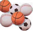 Sports Sqeesh Ball-Baseball or Basketball