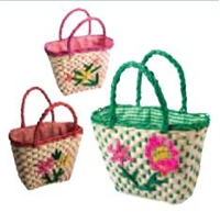 Flower Basket, Kids Bag, Girl's Purse, Gardening Bag for Kids, Kids outdoor bag