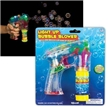 Light Up Bubble Blower Toy Gun