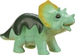 Baby Dino Squeezable Toy - Triceratops