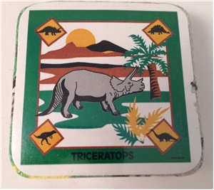Ugly Box: Triceratops Dinosaur Magic Expanding Towel