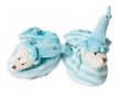 Baby Rattle Shoes - Blue