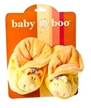 Baby Rattle Shoes - Yellow